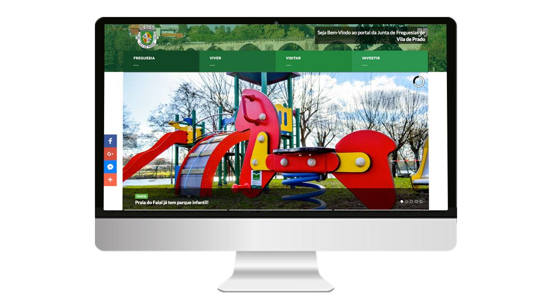 Atualização do Portal Autárquico de Vila de Prado