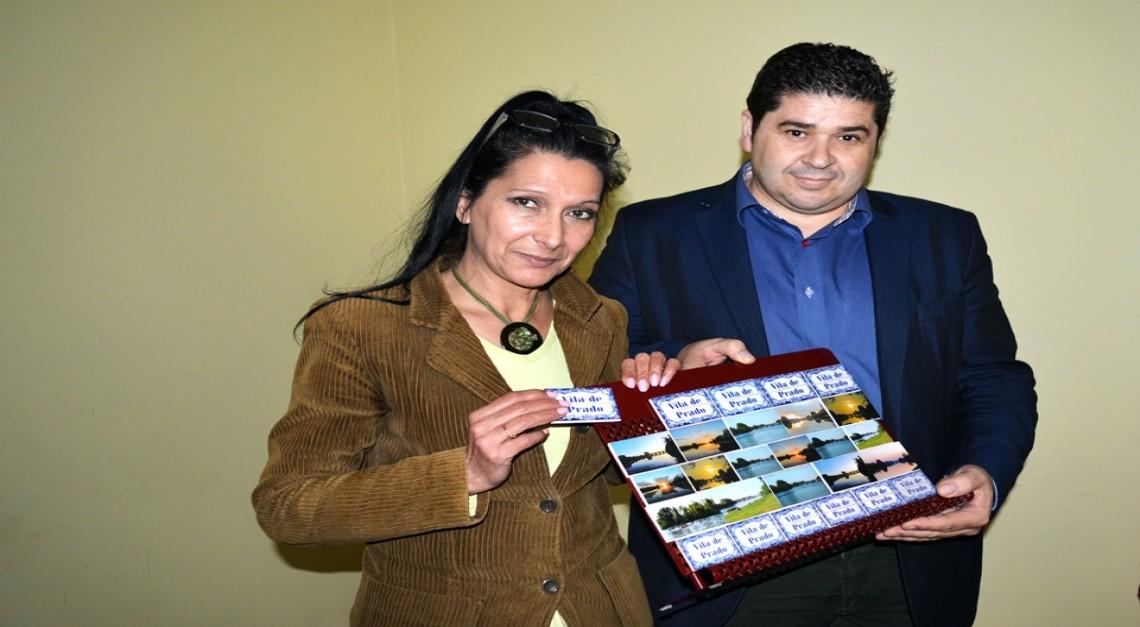 Junta de Prado apresentou linha de azulejos em miniatura