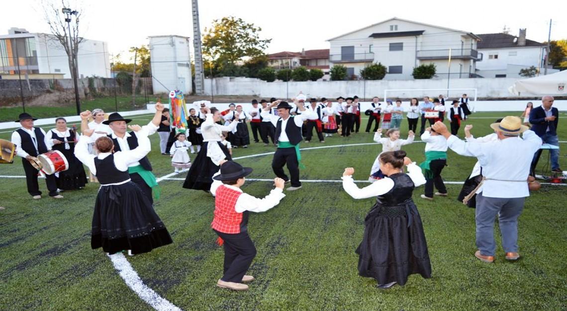 Inauguração do Piso Sintético do Campo de Fut7 do GD Prado