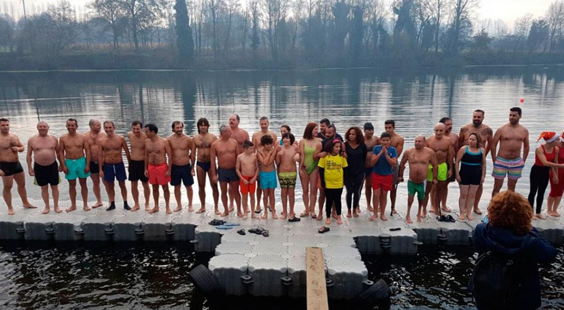 Mais de 40 bravos no Mergulho no Cávado 2017
