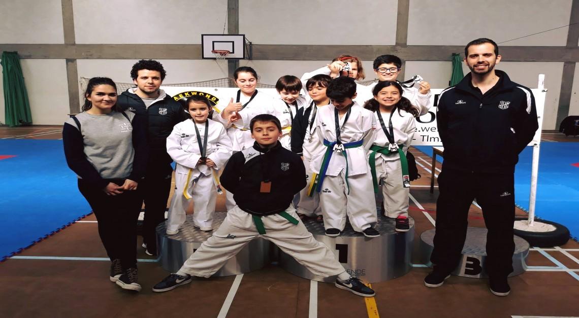 Taekwondo: GD Prado conquista seis medalhas no Open de Esposende