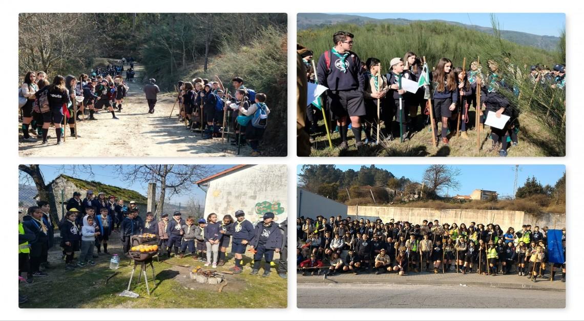 Mais de 500 escuteiros com um olho no Dia do Núcleo e outro no ACANUC 2018 (Vila de Prado)!