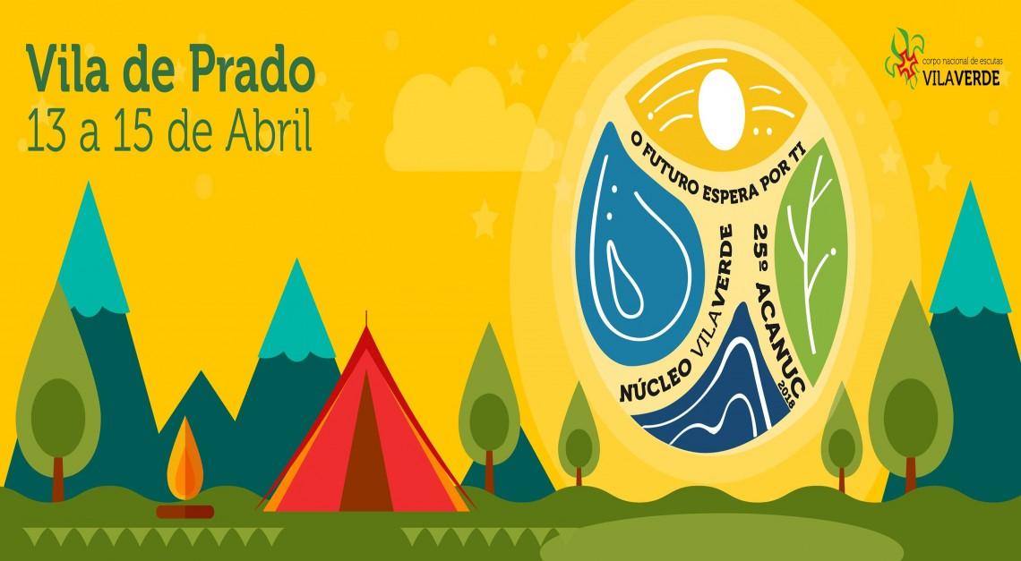Estão abertas as inscrições para o Acampamento de Núcleo na Vila de Prado!