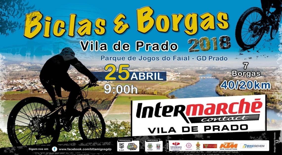 Desporto, natureza e muita diversão no Biclas & Borgas 2018!