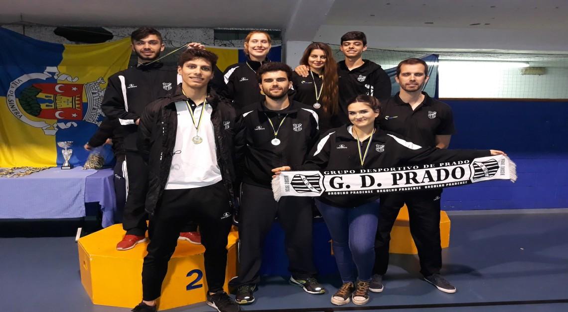 Taekwondo de Prado conquistou cinco medalhas de ouro e uma de bronze no VI Open Internacional de Sintra!