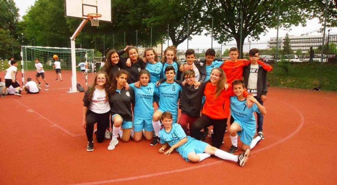 Escola Básica de Prado venceu a final regional da Taça de Desporto Escolar!