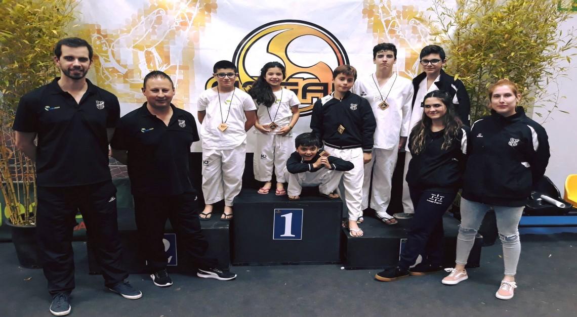 Taekwondo GD Prado. Seis atletas no Open de Gaia e outras tantas medalhas na bagagem!