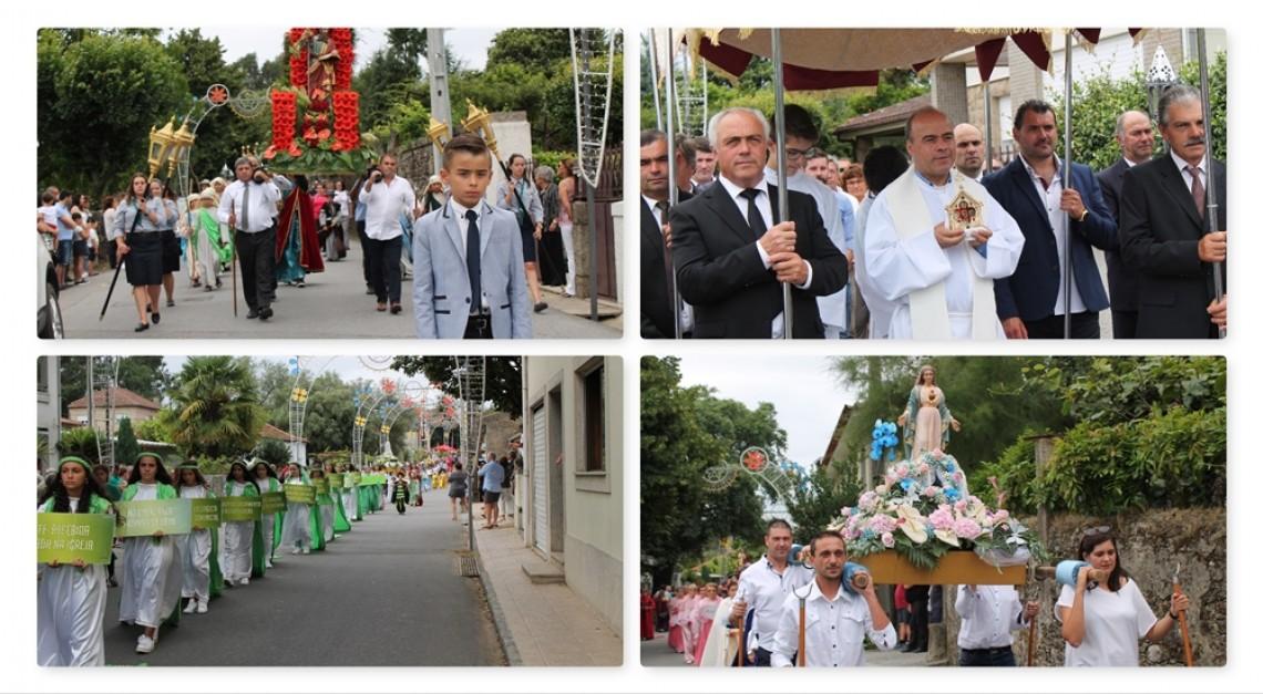 Procissão foi um dos pontos altos das Festas em Honra de S. Tiago e Nossa Senhora dos Remédios