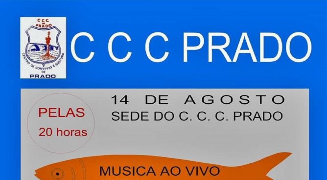 Música ao vivo, sardinhas e caldo verde no arraial do CCC Prado