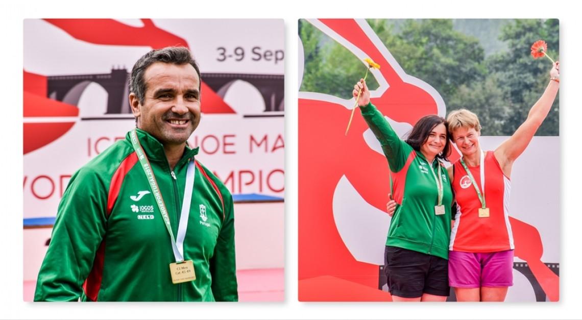 Campeonato do Mundo de Maratona: Cinco medalhas já cá cantam!