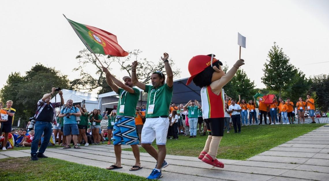 Prado ao rubro na abertura oficial do Campeonato do Mundo de Maratona em Canoagem