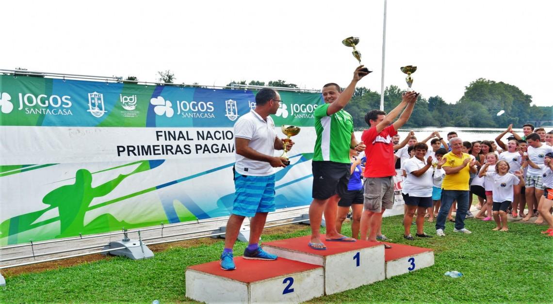 CN Prado conquistou o título de campeão nacional das 'Primeiras Pagaiadas'