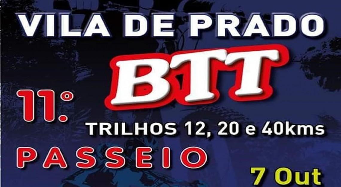 Faça sol ou faça chuva, está aí o 11º passeio BTT da Vila de Prado