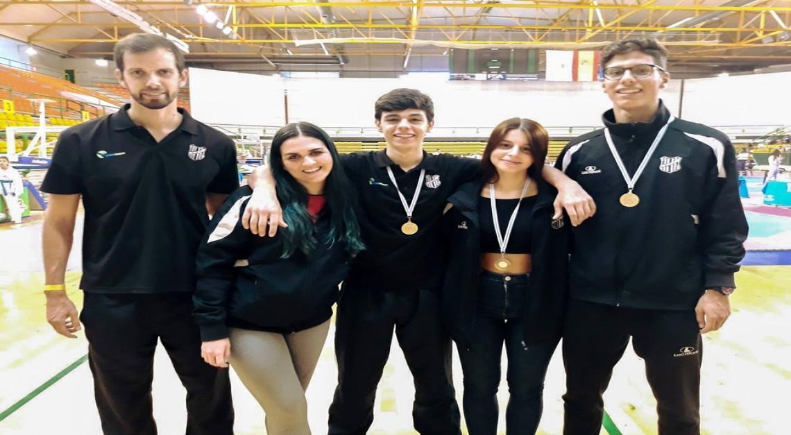 Taekwondo do GD Prado conquista 4 medalhas no Open Internacional de Ourense (Galiza)