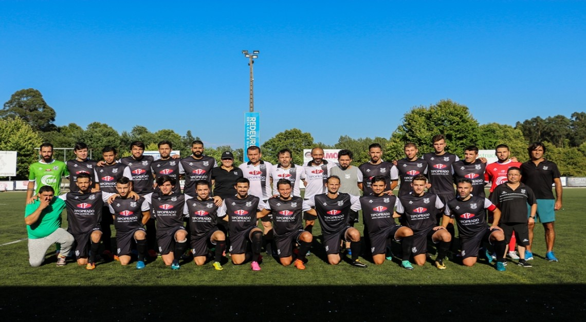 Grupo Desportivo de Prado no topo da tabela classificativa