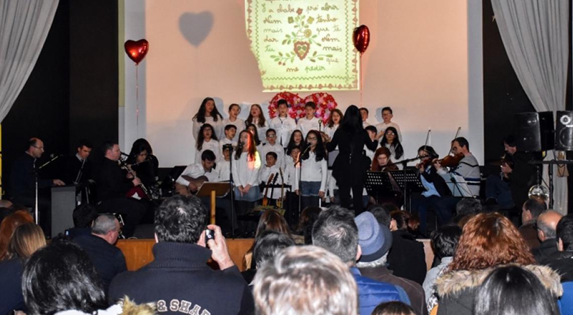 Escola de Música de Prado ajudou a abrilhantar Mês do Romance