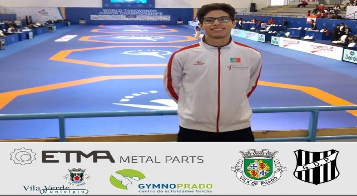 Taekwondo GD Prado. Tiago Alves convocado para o Europeu de sub-21