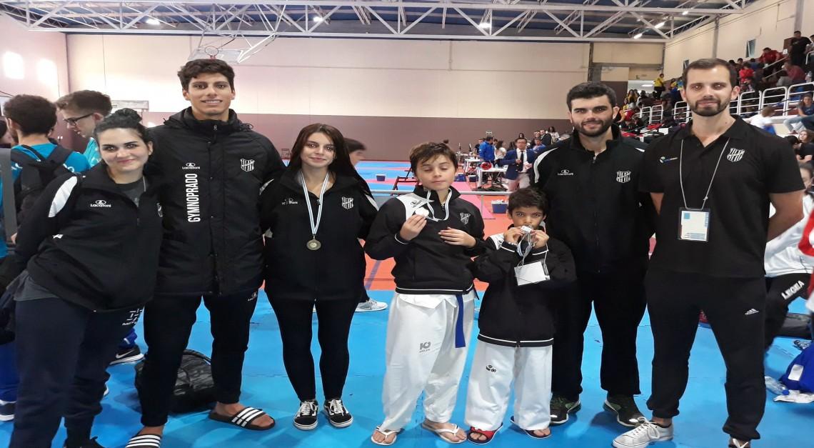 Open da Galiza. Taekwondo do GD Prado trouxe para casa quatro medalhas!