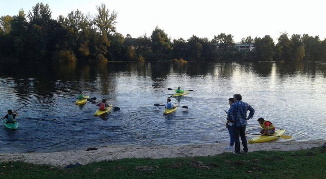 CN Prado com 'aulas' de canoagem para adultos!