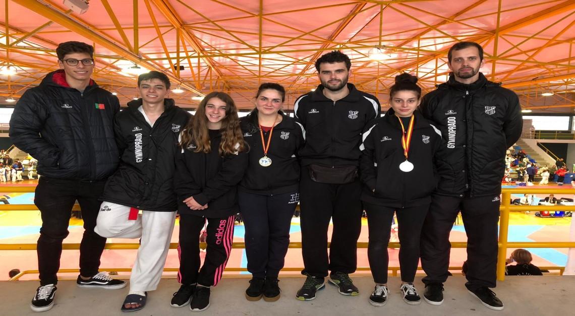 Taekwondo GD Prado conquista mão cheia de medalhas  no Open de Pontevedra