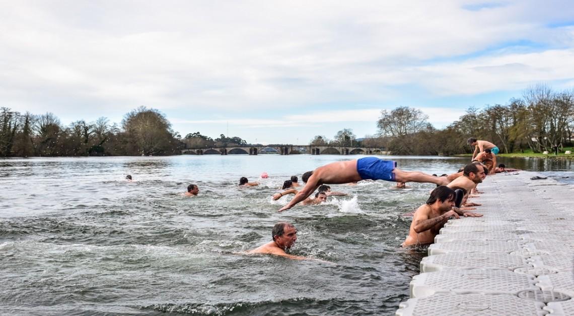 Vila de Prado dá as boas vindas a 2019 com um revigorante Mergulho no Cávado