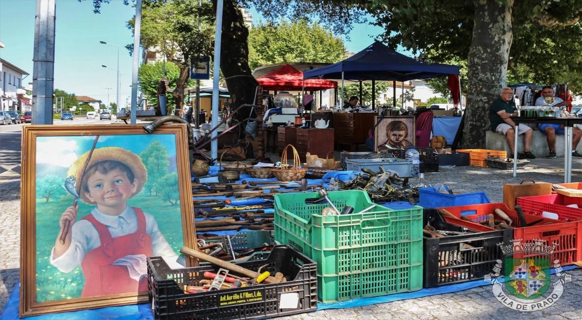 Vila de Prado recebe a próxima Feira de Antiguidades no dia 17 de novembro
