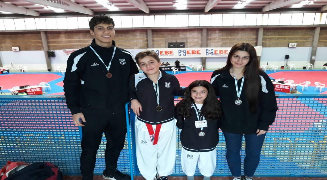 Taekwondo. GD Prado conquista seis medalhas no Open de Moaña