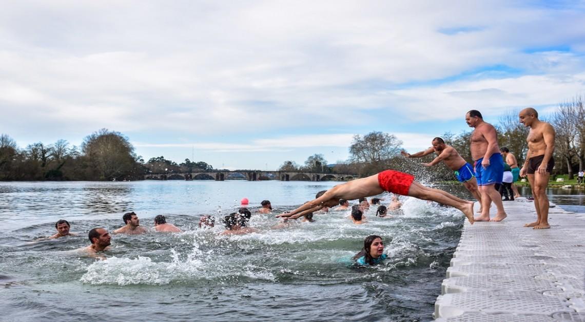 A Vila de Prado dá as boas-vindas a 2019 com um revigorante Mergulho no Cávado