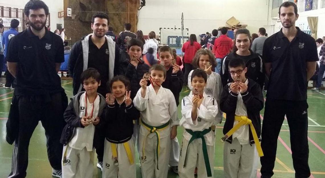 Taekwondo: Prado conquista 5 pódios em Esposende