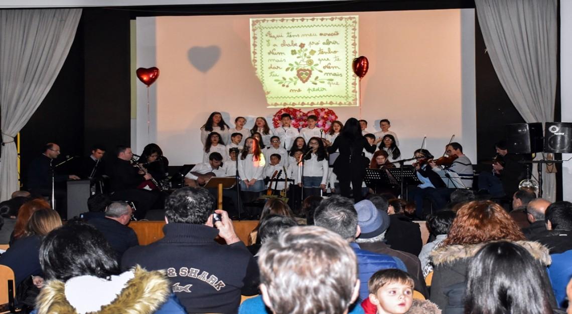 01 de março. Está a chegar o 6º Concerto Namorar Portugal da Escola de música da Vila de Prado