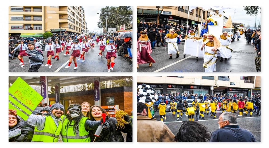Carnaval molhado, Carnaval abençoado!