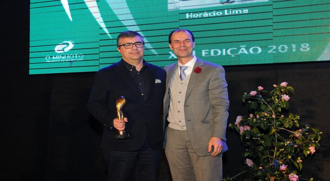 Horácio Lima venceu o prémio Dirigente Desportivo nos troféus O Minhoto!