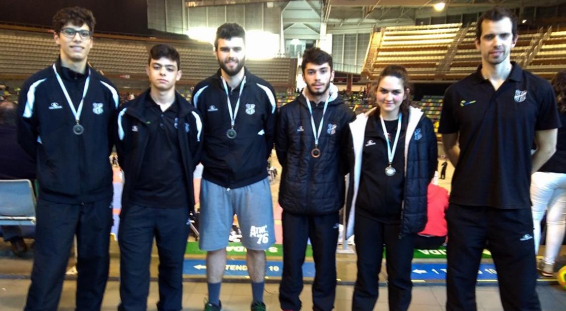 Taekwondo GD Prado: 4 medalhas no Open da Corunha!