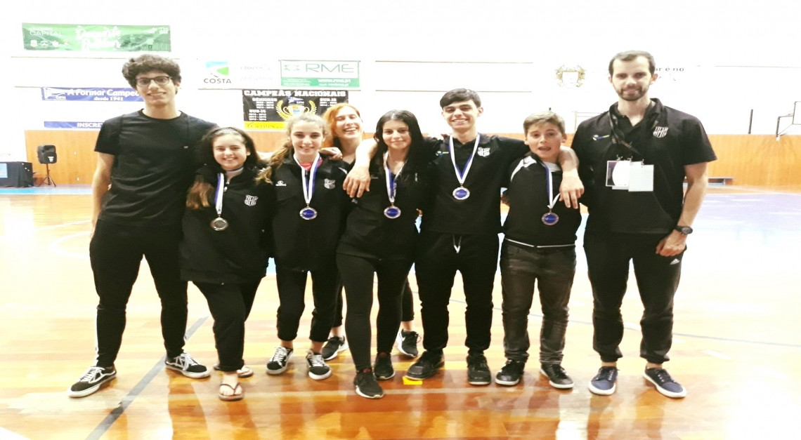 GD Prado. Taekwondo conquistou seis medalhas no I Open Ibérico de Valongo!