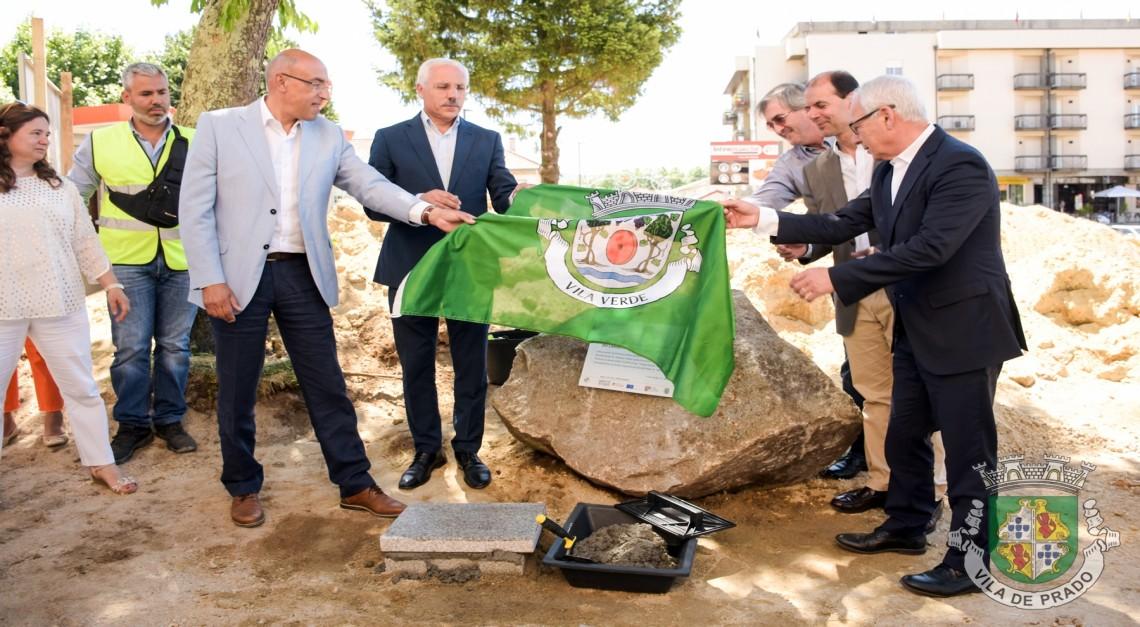 Já arrancaram as obras de requalificação do Largo Antunes Lima e devem estar concluídas até ao final do ano!