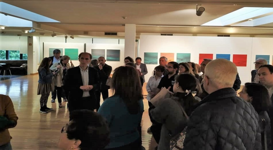 Luís Coquenão. Exposição Paisagens de Tinta II na Galeria Municipal de Arte de Barcelos até 21 de julho