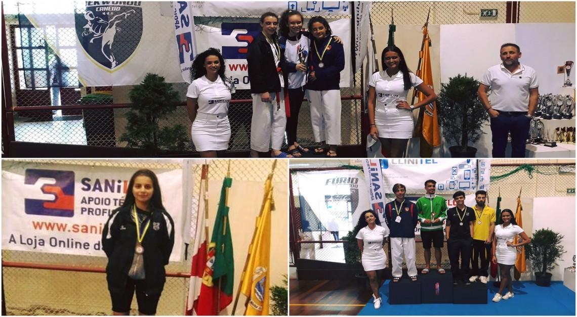 Taekwondo GD Prado conquistou três medalhas no Open Internacional de Canedo!