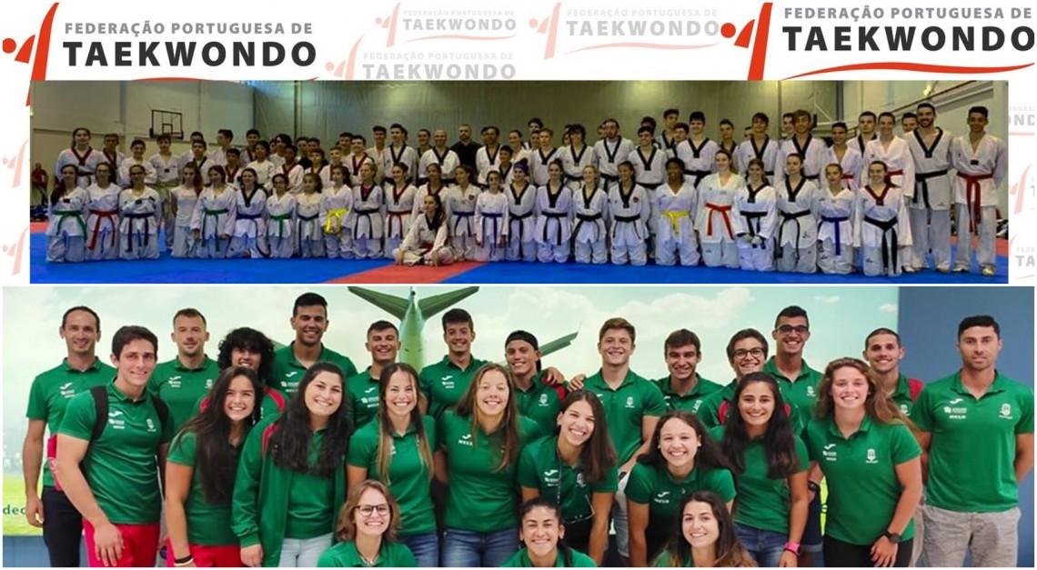 Atletas pradenses nas seleções nacionais de Taekwondo e Canoagem!