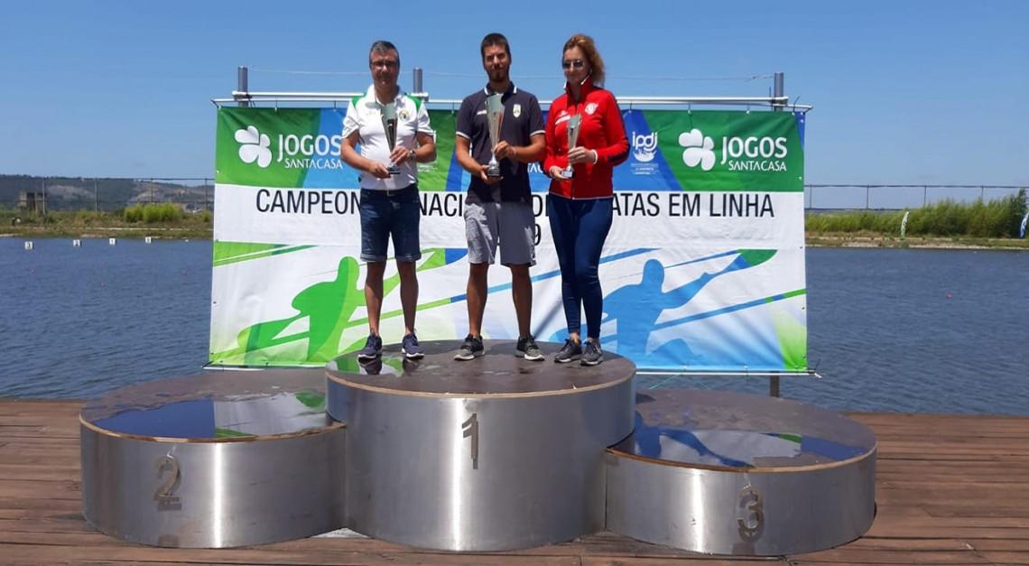Canoagem. CN Prado é vice-campeão nacional de velocidade!