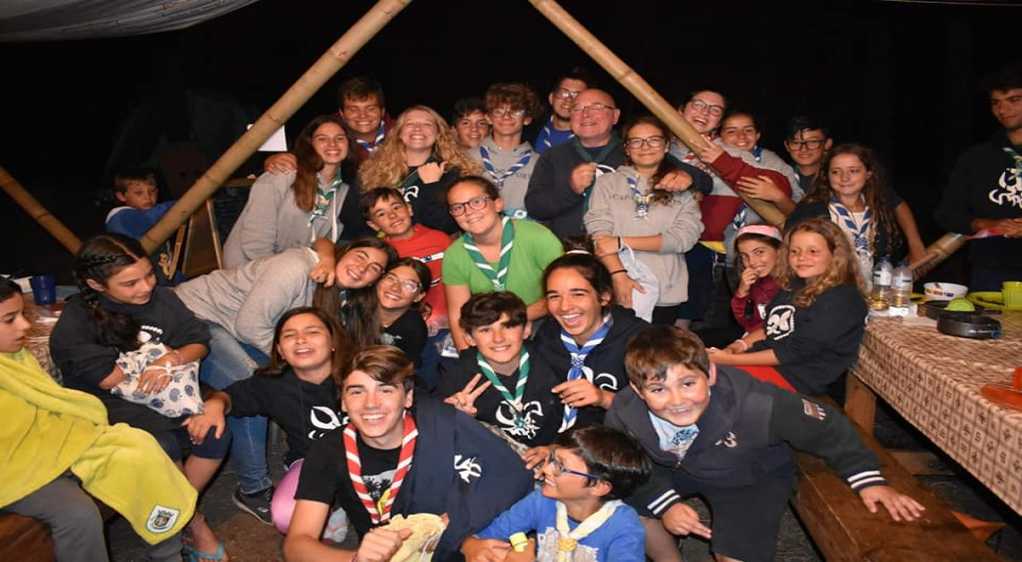 Uma semana de aventura, diversão e aprendizagem no ACAPRAIA dos Escuteiros de Prado