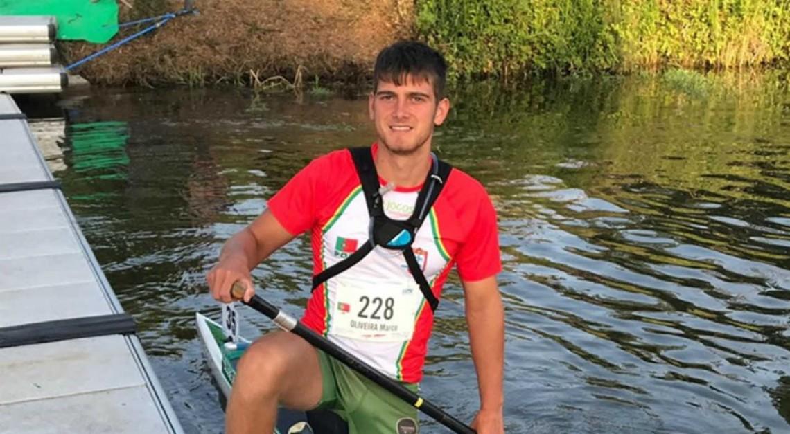 CN Prado. Marco Oliveira conquistou o bronze em C1 no europeu de maratona em canoagem