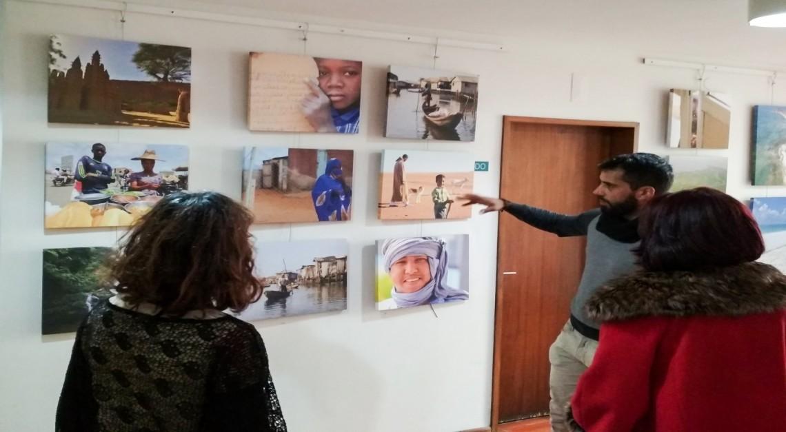 Exposição fotográfica sobre o continente africano na Biblioteca de Prado