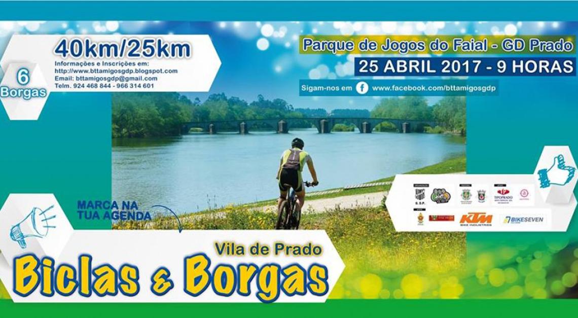 Desporto, convívio e natureza no Biclas & Borgas 2017