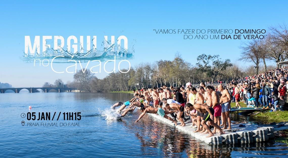 Vila de Prado pronta para receber 2020 com o 'Mergulho no Cávado – 1º Domingo do Ano'