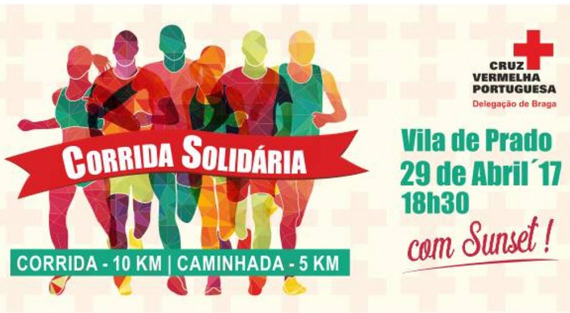 Prado recebe corrida solidária da Cruz Vermelha