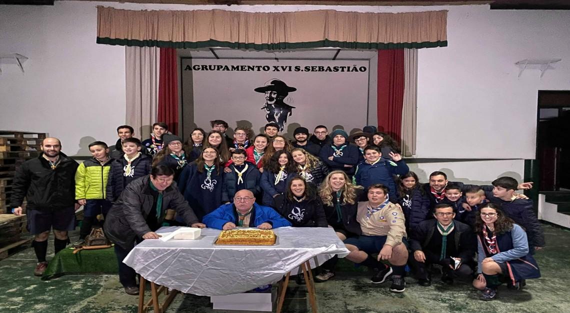 Agrupamento de Prado reuniu a família escutista para celebrar o 60º aniversário