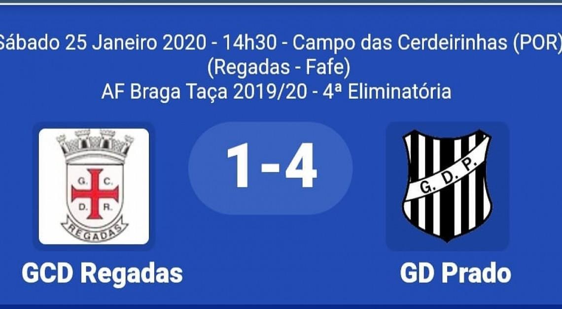 GD Prado está nos oitavos de final da Taça da AF Braga