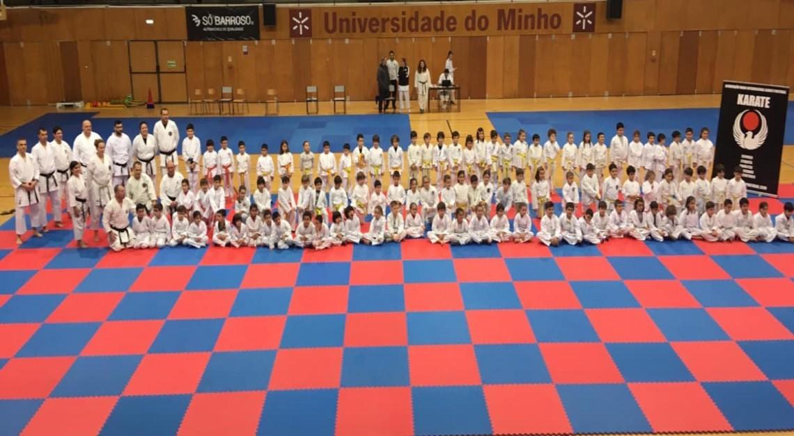 Karate da JF Vila de Prado no Estágio Nacional de Inverno da AWIKP