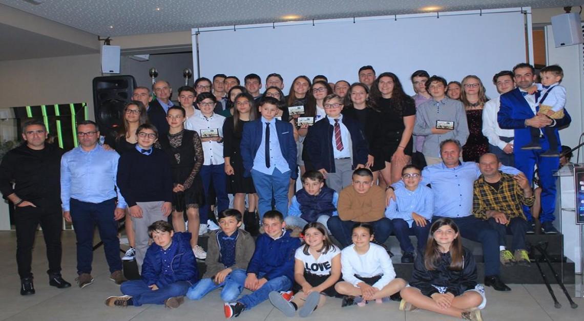 CN Prado premeia atletas do ano e celebra 38º aniversário