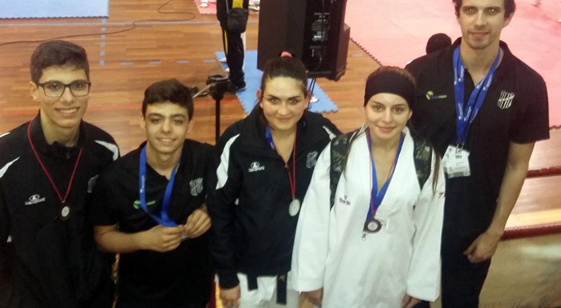 Taekwondo GD Prado conquista 3 medalhas no Open de Canedo